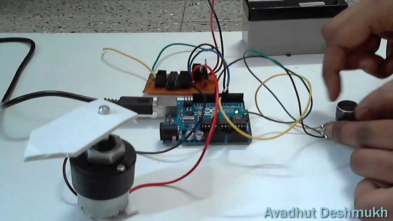 Potentiometer control dc motor position diy servo using for Stepper motor position control