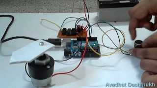 Potentiometer control DC Motor Position (DIY Servo) Using Arduino