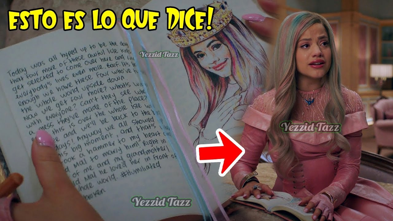 El Diario De Audrey Esto Es Lo Que Decia Descendientes 3 (Queen Of Mean)