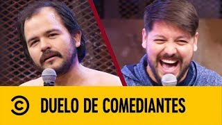 Juan Carlos Escalante VS Luiki Wiki | Duelo De Comediantes | Comedy Central LA