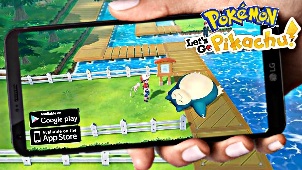 Finally Pokemon Let S Go Pikachu On Android Apk Download Link
