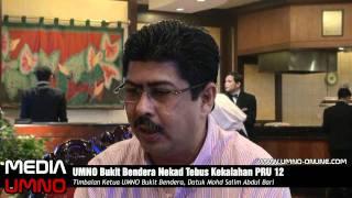 UMNO Bukit Bendera Nekad Tebus Kekalahan PRU12 - Mohd Salim Abdul Bari