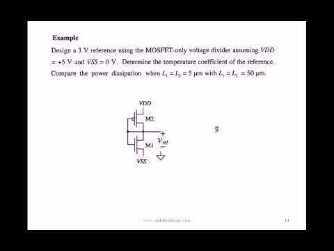 Voltage and Current References - 1