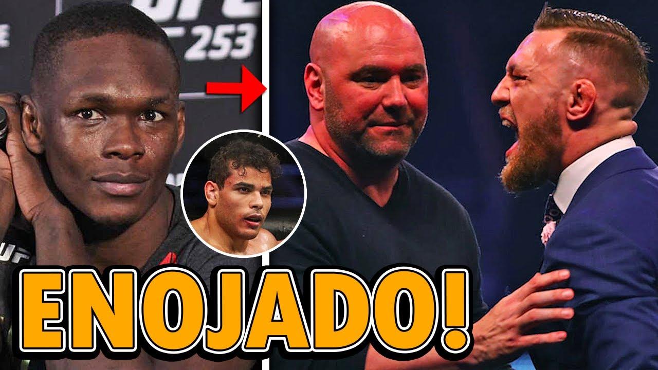 UFC 253: Salarios y Bonificaciones, Israel Adesanya, Paulo Costa, White ENOJADO con Conor McGregor