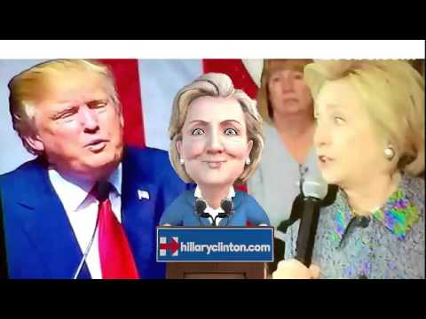 Hillary Clinton Praises Donald Trump & Ready To Face Him in The 2016 Presidential Election 3-07-2016