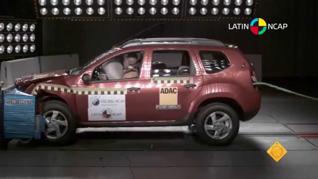Latin Ncap Renault Duster Driver Airbag 4 Star Safety Rating
