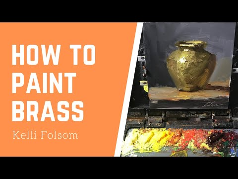How to Paint Brass for Beginners EASY! 5 Steps - 10 minutes