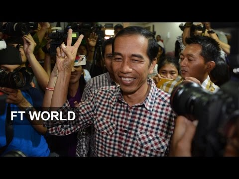 Joko Widodo elected Indonesia president | FT World