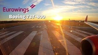 ✈SUNRISE TAKEOFF | Eurowings Boeing 737-800 at Nürnberg/Nuremberg Airport