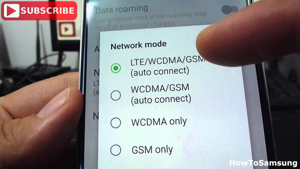 How to connect LTE