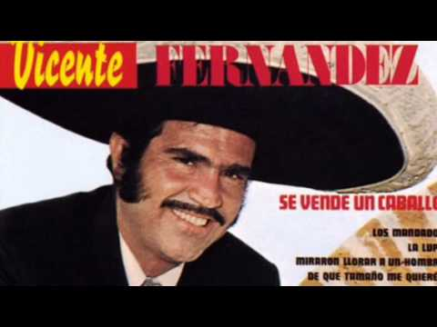 Vicente Fernandez.....     De Que Tamaño Me Quieres