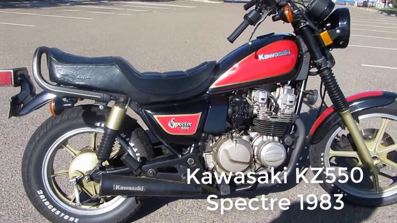 Kawasaki KZ550 Spectre 1983 - YouTube