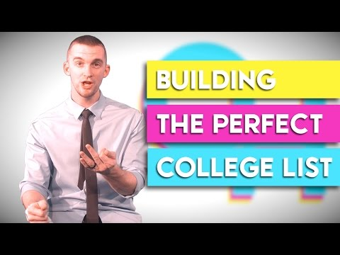 How to Create a College List   College High