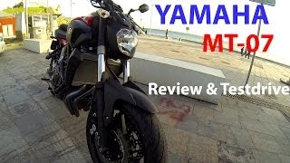 Yamaha MT-07 / FZ07 Review & Test ride (part one)