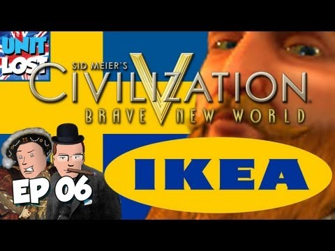 Civilization V: Brave New World Let's Play – FLATPACK FACEOFF! Ikea Wars Part 06