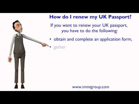 How Do I Renew My UK Passport?