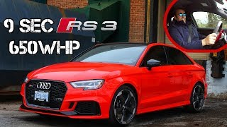 Audi RS3 | Stock Looking Supercar Hunter | 650 WHP | Fast RS3