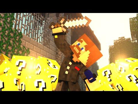 Голодные игры с лаки блоками - Lucky Block Survival Games Minecraft