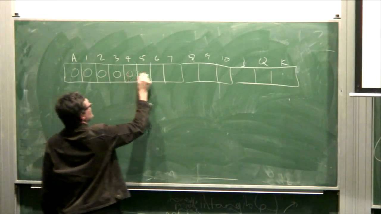 Lecture 10a: Bucket Sort, Counting Sort - Richard Buckland