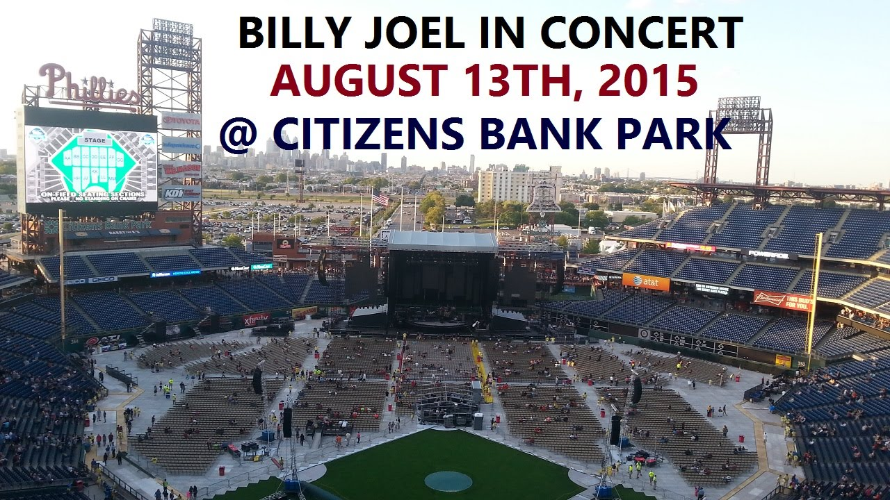 Billy Joel In Concert August 13th 2015 At Citizens Bank Park
