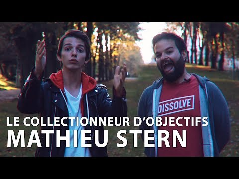 MATHIEU STERN, LE COLLECTIONNEUR D'OBJECTIFS - INTERVIEW