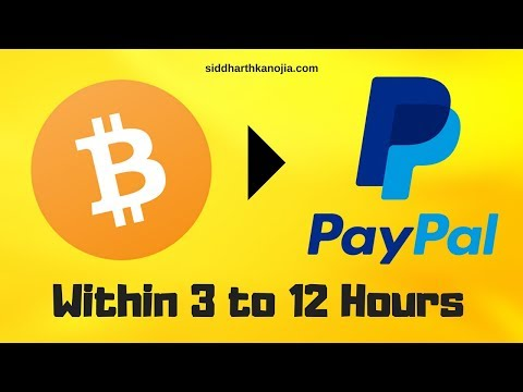 Get Exchange Bitcoin To Paypal In 2018
