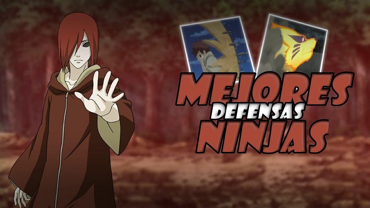 Explicación: Defensas Ninjas Mas Poderosas - Naruto