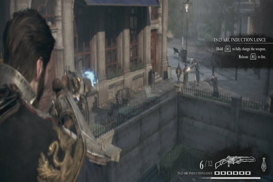 The Order 1886 Use the Arc Electricity Gun