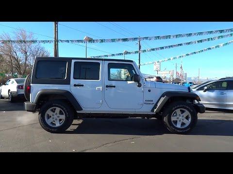 Lithia Chrysler Jeep Of Reno >> 2016 JEEP WRANGLER UNLIMITED Reno, Carson City, Northern Nevada, Sacramento, Elko, NV GL117332 ...