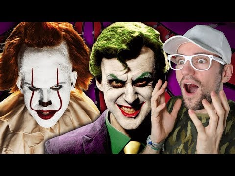 The Joker Vs Pennywise. Epic Rap Battles Of History | REACTION