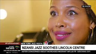 SA Jazz artists soothe New York