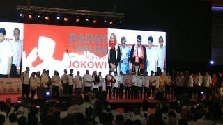 Dukung Jokowi 2 Periode, Relawan Ikrarkan Sapta Tekad