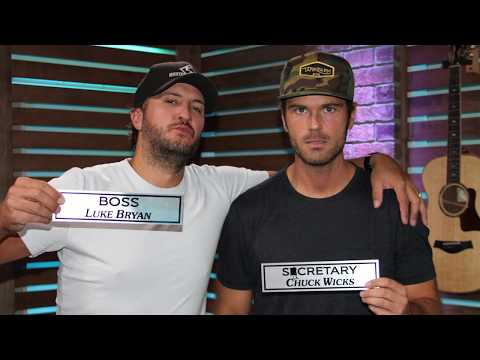 "Luke Bryan Changes Chuck's Office Title From ""Secretary"" To ""Sucretary"""
