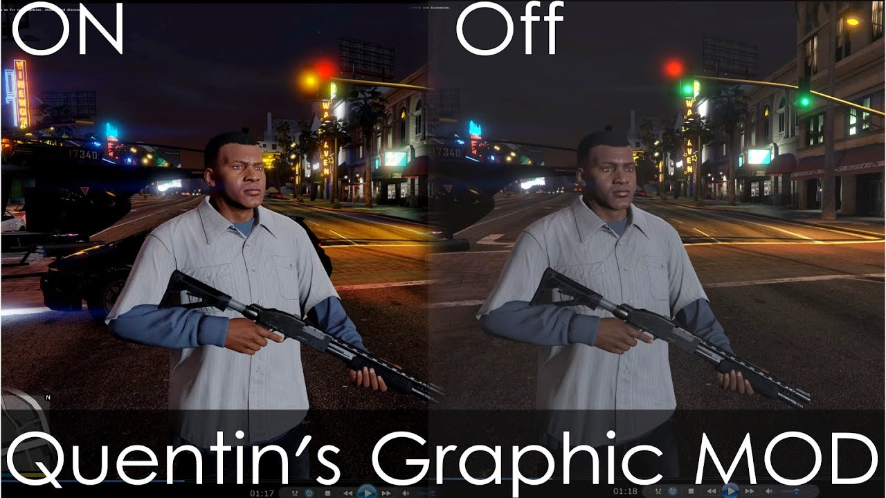 gta 5 pc graphics mod quentins realistic awakening