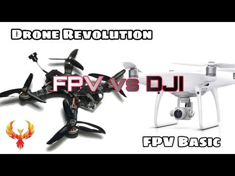Фото Difference of FPV, FPV vs DJI. FPV Basic 1