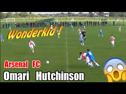 Arsenal FC Wonder Kid Omari Hutchinson  AMAZING Skills