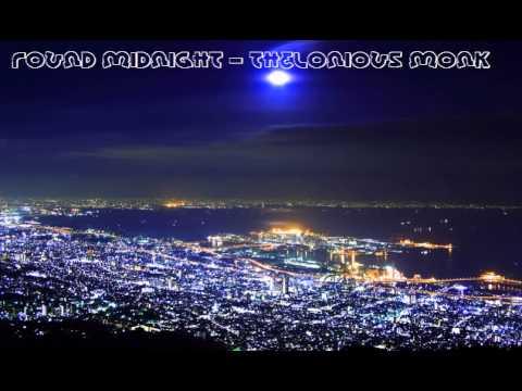 KARAOKE Round About Midnight - Thelonious Monk Lyrics 歌詞付き