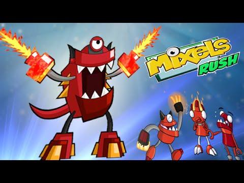 Mixels Rush: Final Boss Level  infernite Land - Cartoon Network Games