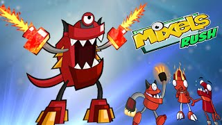 Mixels Rush: Final Boss Level  infernite Land - Cartoon Network Games
