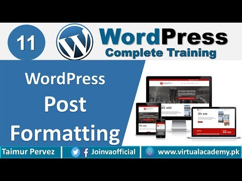 how-to-add-post-in-wordpress-|-post-formatting-|-add-&-remove-link.-11