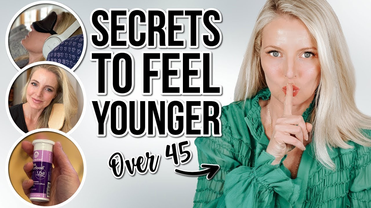 7 SURPRISING Things I Do EVERY SINGLE DAY To *Feel* YOUNGER (Rare Tips You Haven't Heard Before)