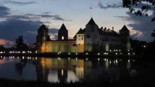 Мирский замок, Беларусь/ Mir Castle, Belarus(Строительство Мирского замка было начато в XVI в. До 1568 года хозяевами были Ильиничи, потом — Радзивиллы..., 2013-09-20T15:56:49.000Z)