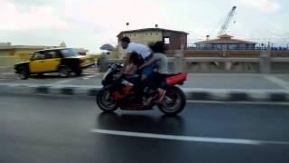Ramy Sold stunts in Alexandria
