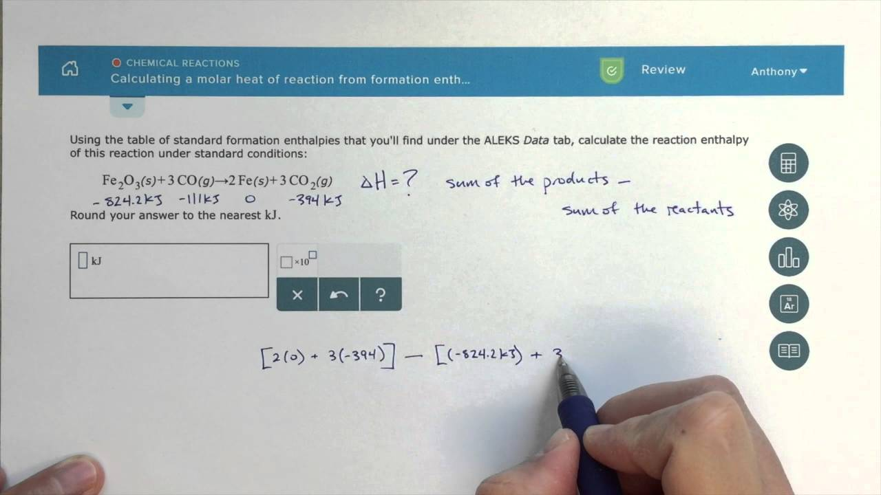 using calorimetry to calculate enthalpies of reaction chemistry tutorial