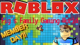 🌎🎮 Roblox | 🔴 Live Stream #130 | MEMBER DAY!! 🎮 🌎