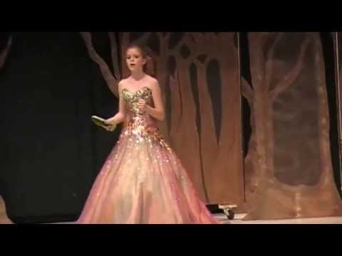 Shannon Layburn as Cinderella, 'Into the Woods' - 'On the Steps of the Palace'