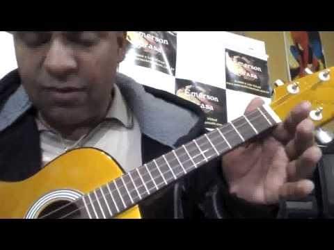 2ª aula Iniciante - Ave Maria. Cavaco & banjo.