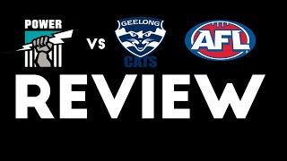 Port Adelaide Vs Geelong - Round 5 2018 - Review
