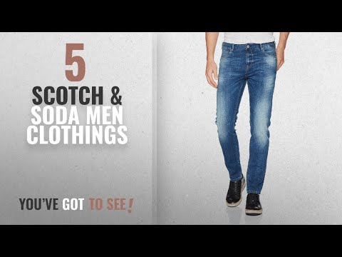 Top 10 Scotch & Soda Men Clothings [ Winter 2018 ]: Scotch & Soda Men's Skim Plus, Dutch Blauw, 32