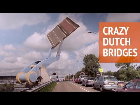 Crazy Dutch Bridges • The Science of Erasmusbrug • Rotterdam - THE NETHERLANDS